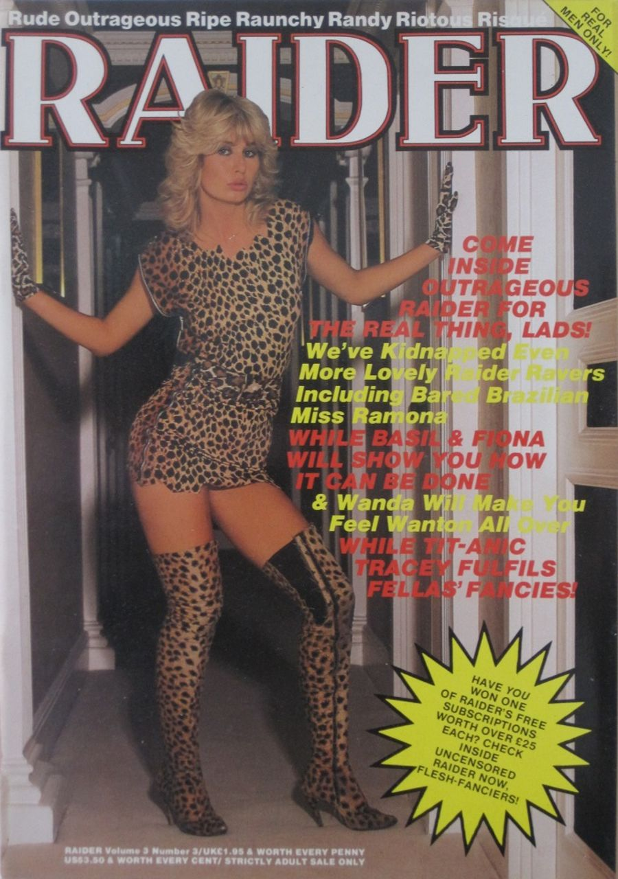 RAIDER. VOL. 3  NO. 3.  VINTAGE ADULT MAGAZINE.