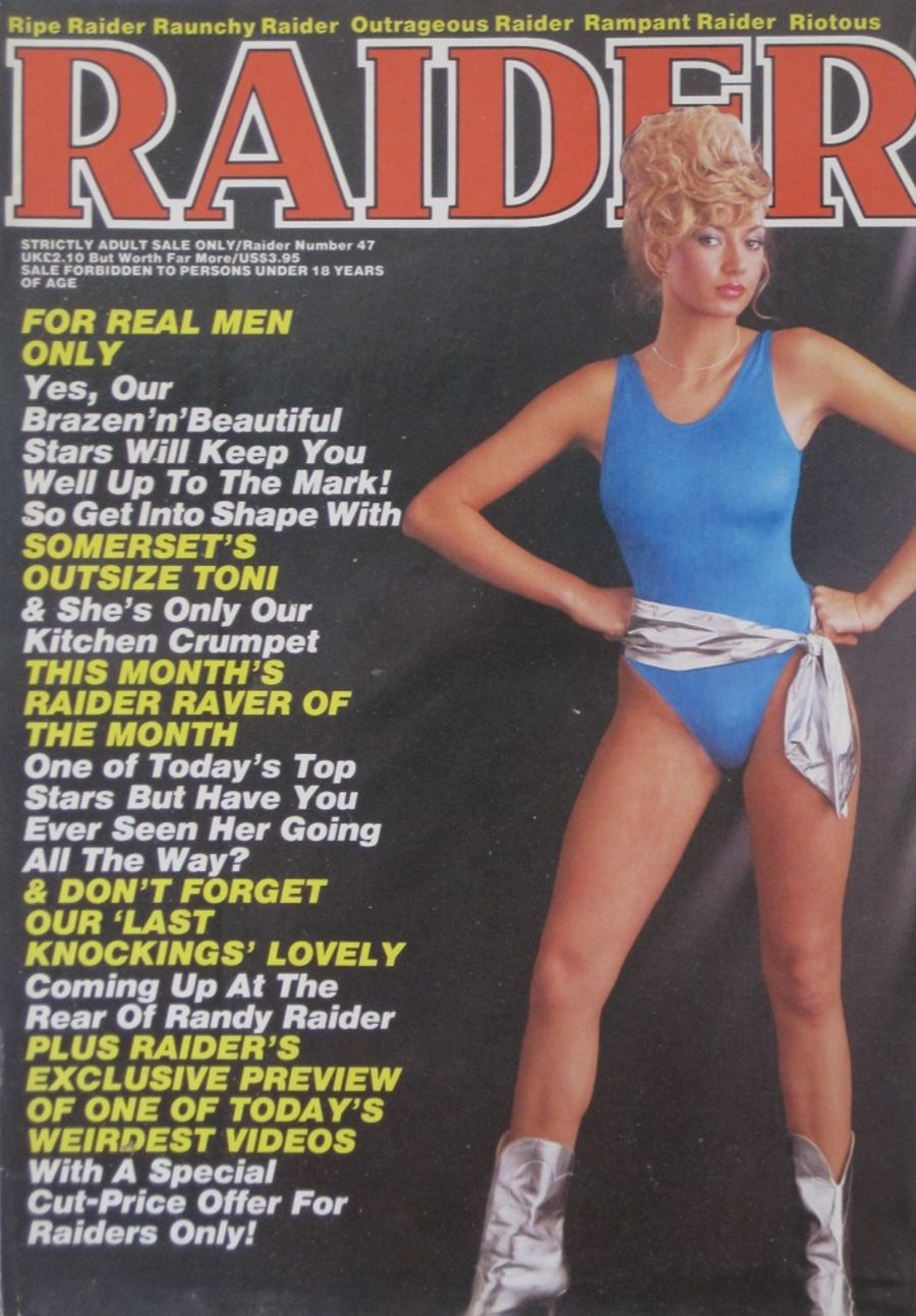 RAIDER.  NO. 47.  VINTAGE ADULT MAGAZINE.