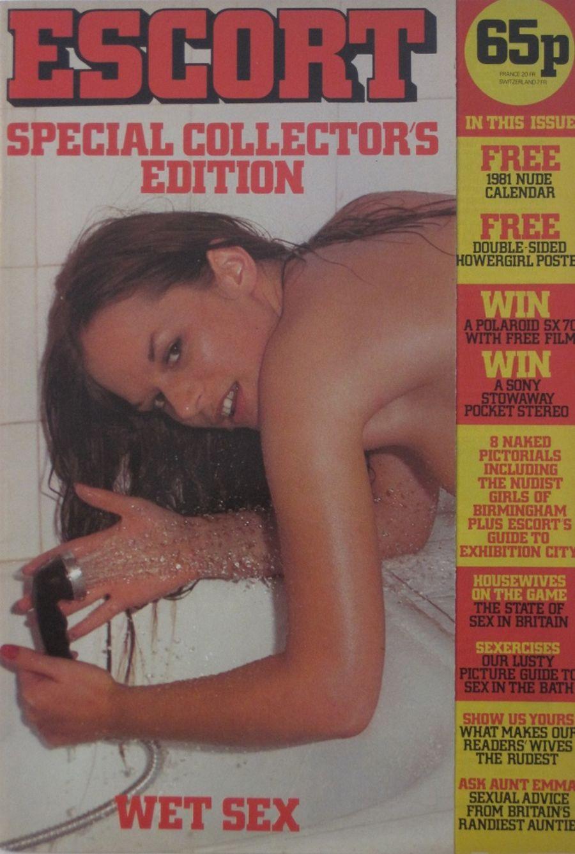 ESCORT SPECIAL COLLECTOR'S EDITION. 1980 VINTAGE ADULT MAGAZINE.
