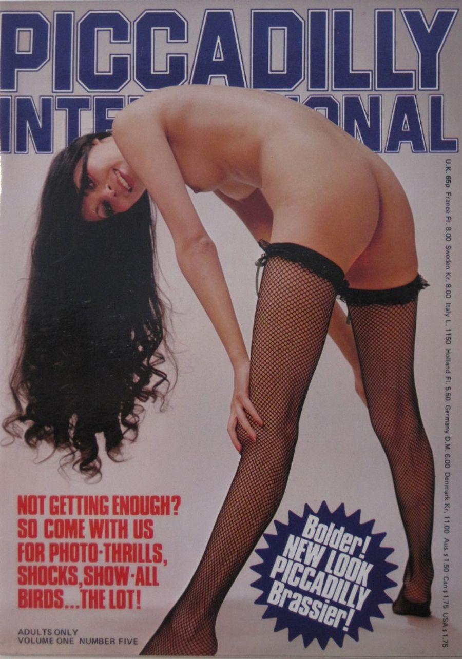 PICCADILLY INTERNATIONAL. VOL. 1 NO. 5. 1977 VINTAGE ADULT MAGAZINE.
