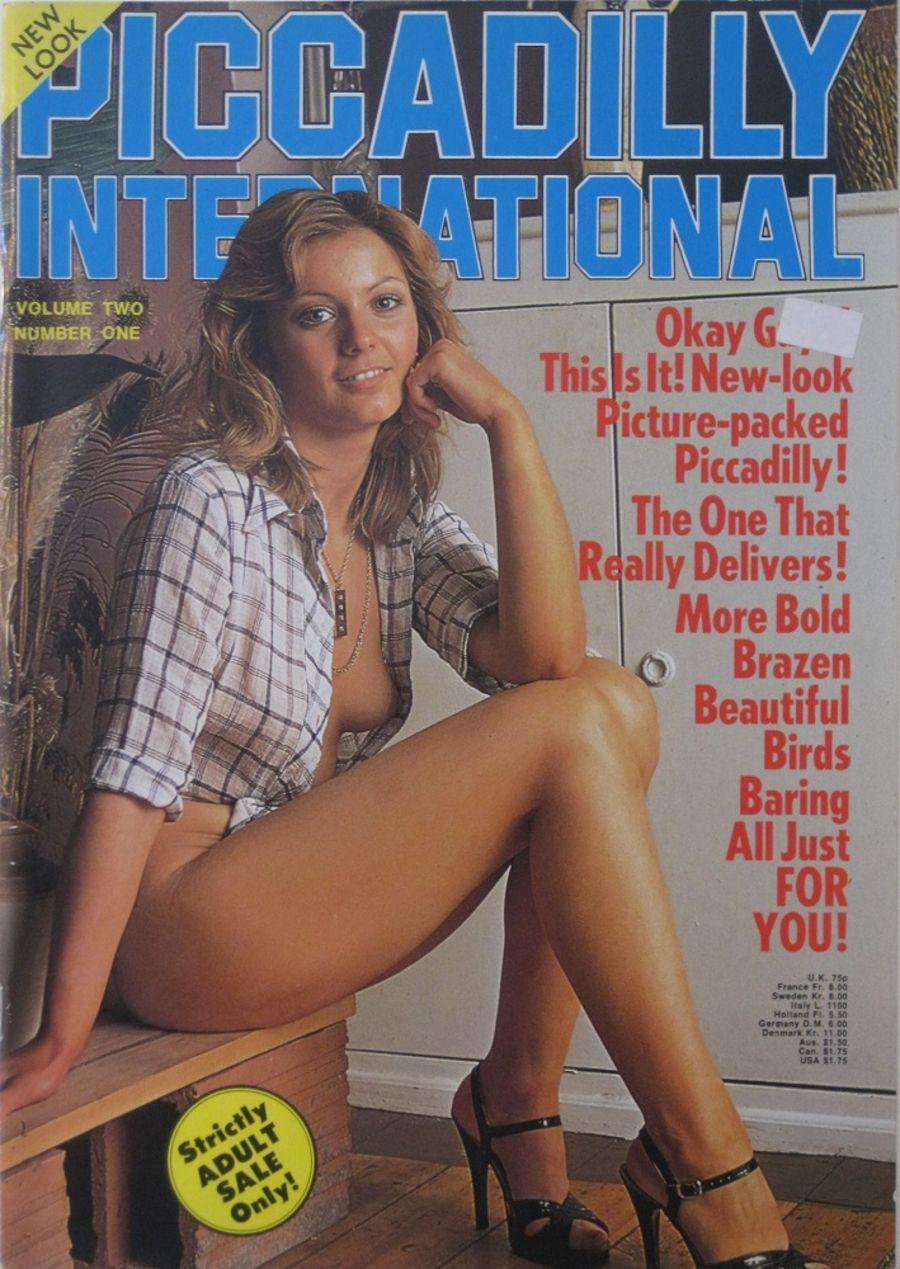 PICCADILLY INTERNATIONAL. VOL. 2  NO. 1. 1978 VINTAGE ADULT MAGAZINE.