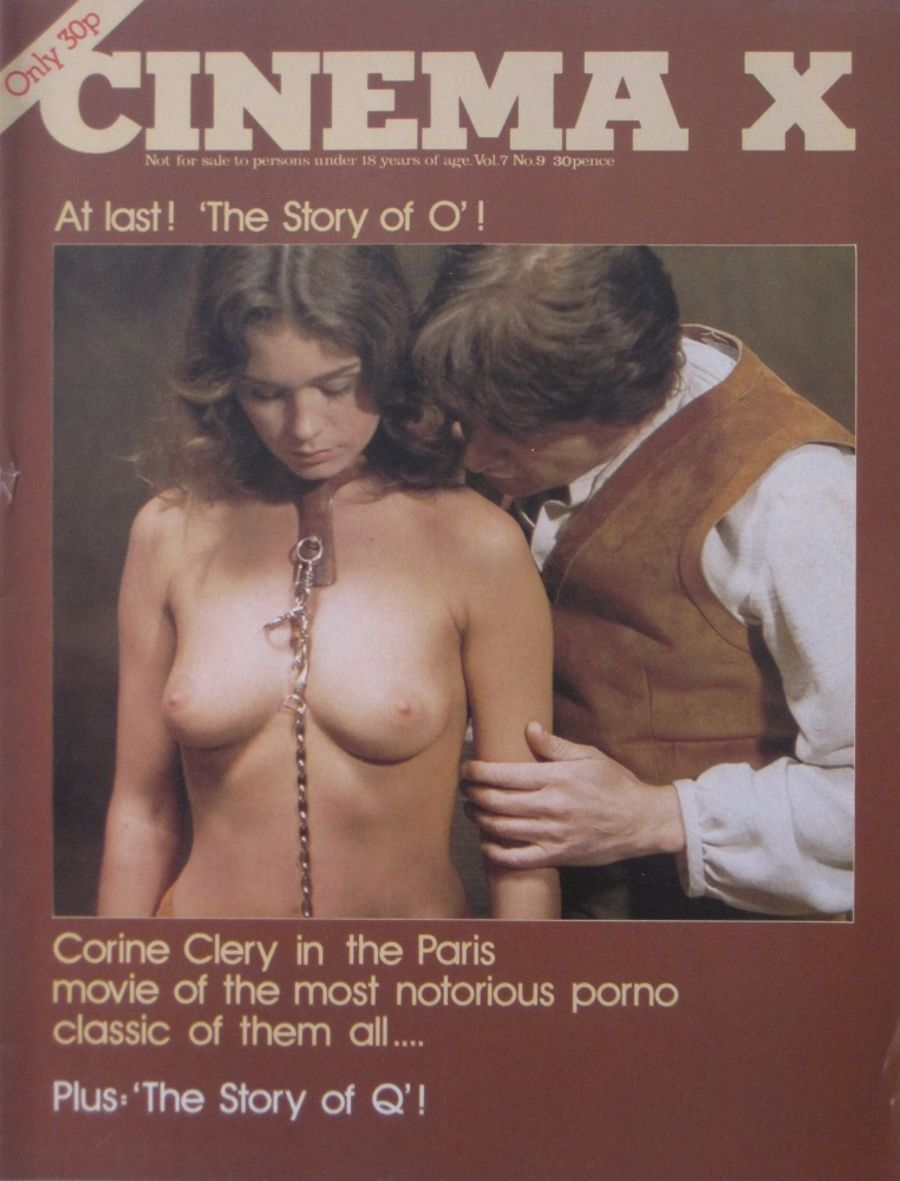 CINEMA X. VOL. 7  NO. 9. 1975 VINTAGE ADULT FILM MAGAZINE.