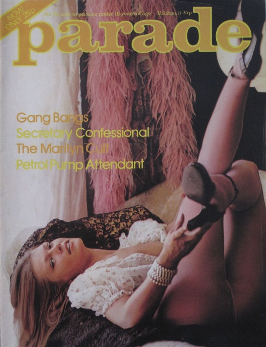 PARADE. VOL. 2 NO. 3. 1976 VINTAGE ADULT MAGAZINE.