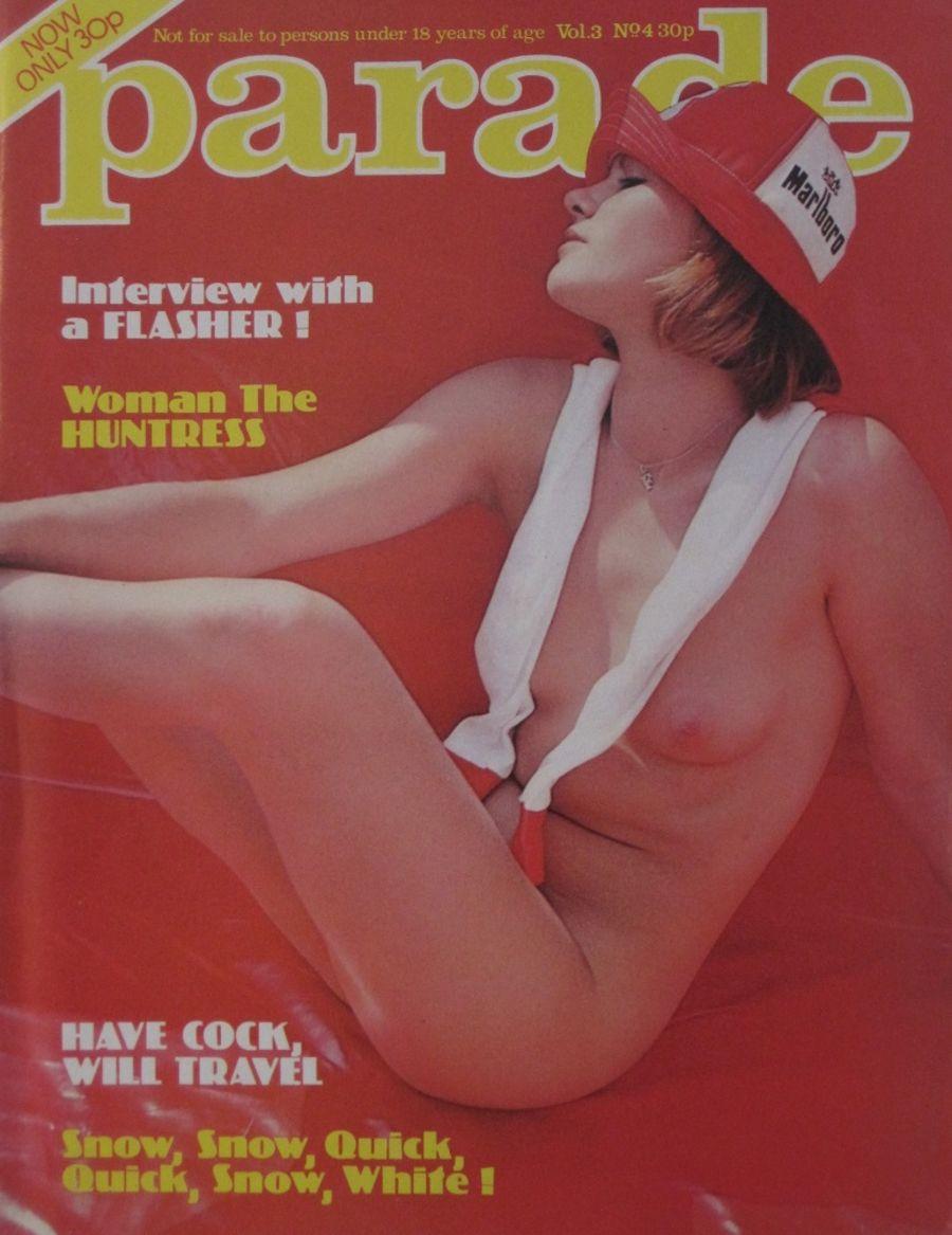 PARADE. VOL. 3  NO. 4. 1977 VINTAGE ADULT MAGAZINE.