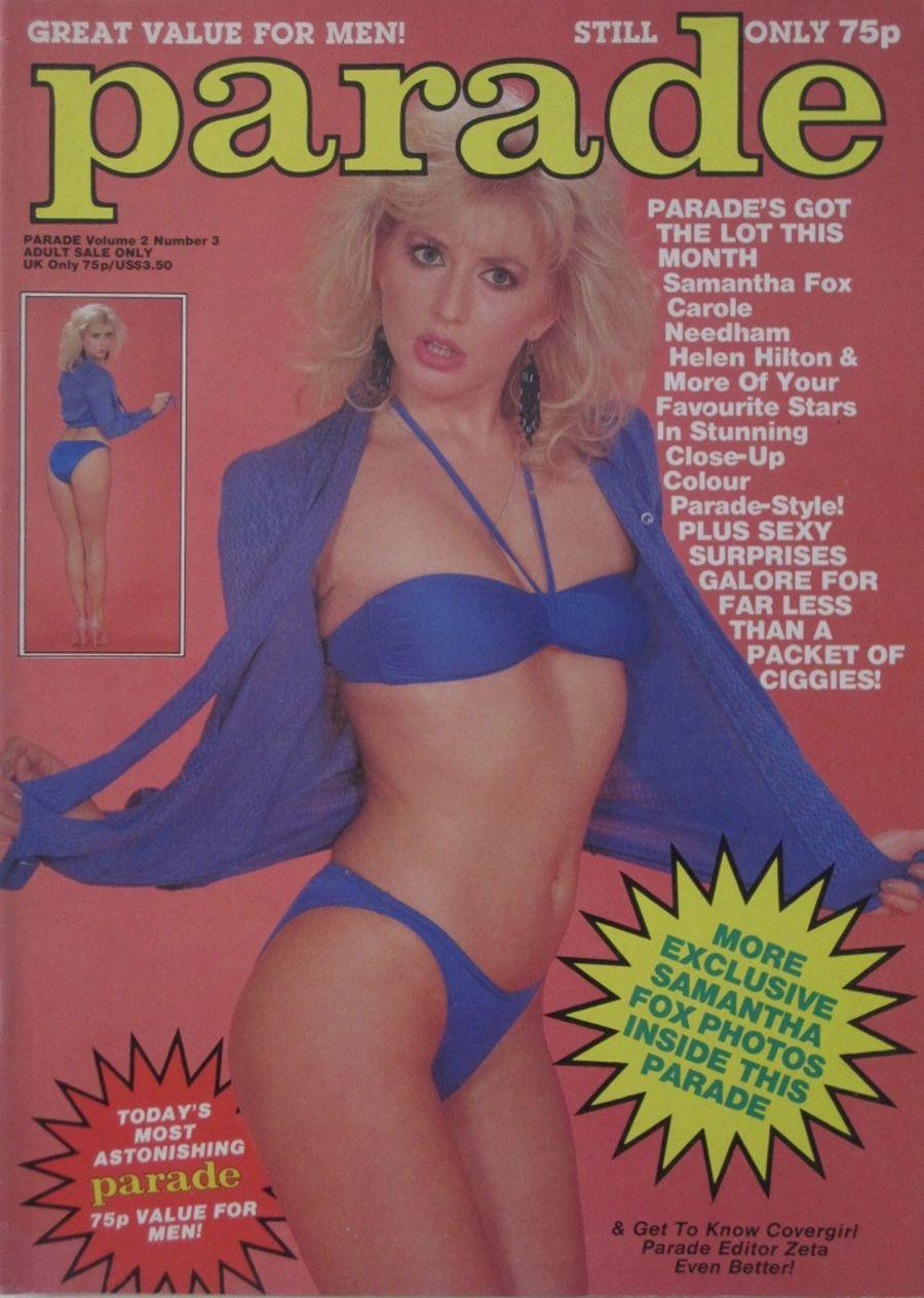 PARADE. VOL. 2 NO. 3. 1984 VINTAGE ADULT MAGAZINE.