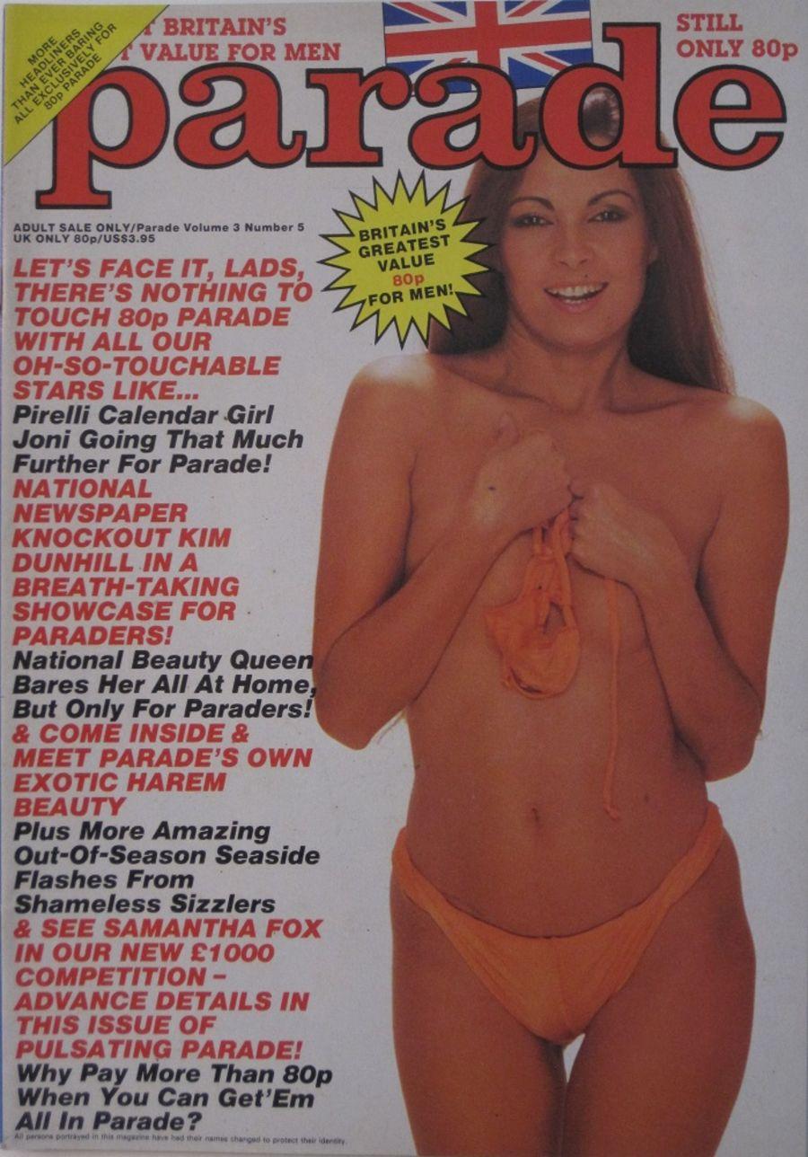 PARADE. VOL. 3 NO. 5. 1986 VINTAGE ADULT MAGAZINE.