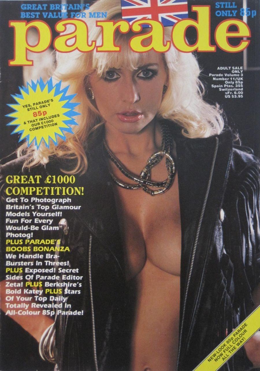 PARADE. VOL. 3  NO. 11. 1986 VINTAGE ADULT MAGAZINE.