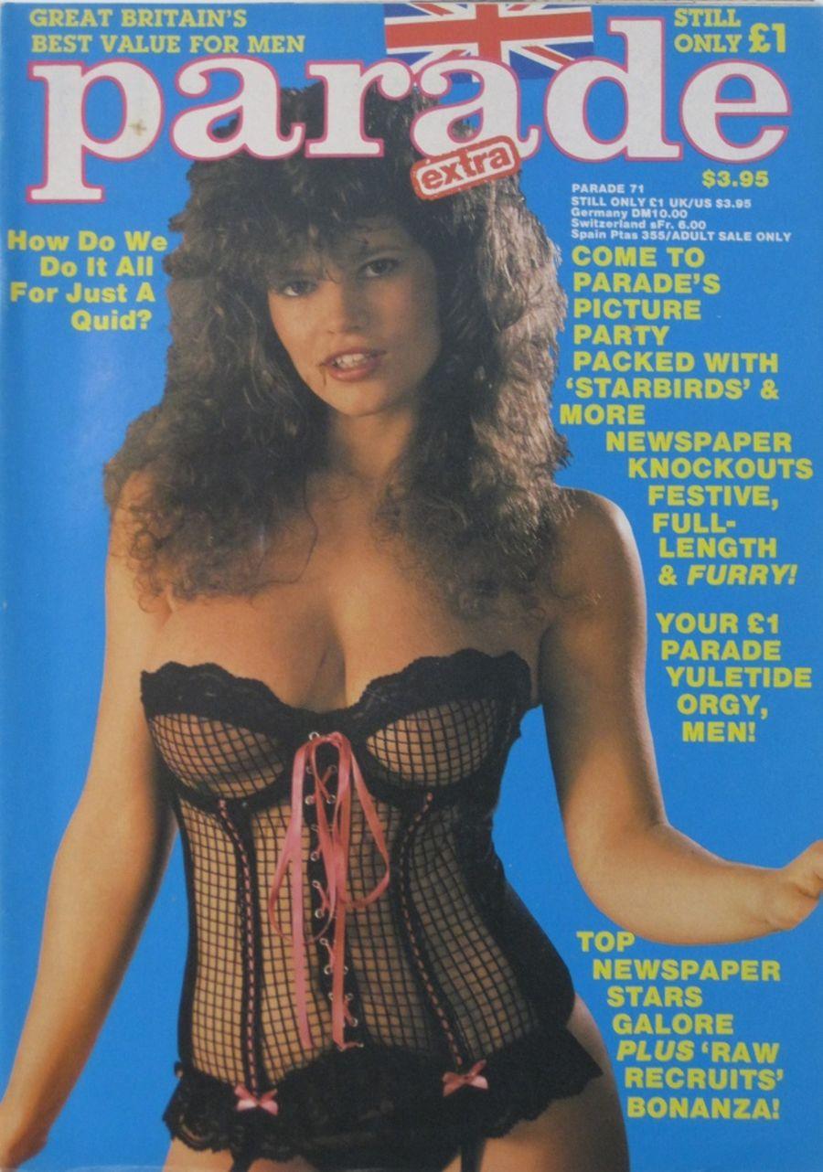 PARADE.  NO. 71. 1987 VINTAGE ADULT MAGAZINE.