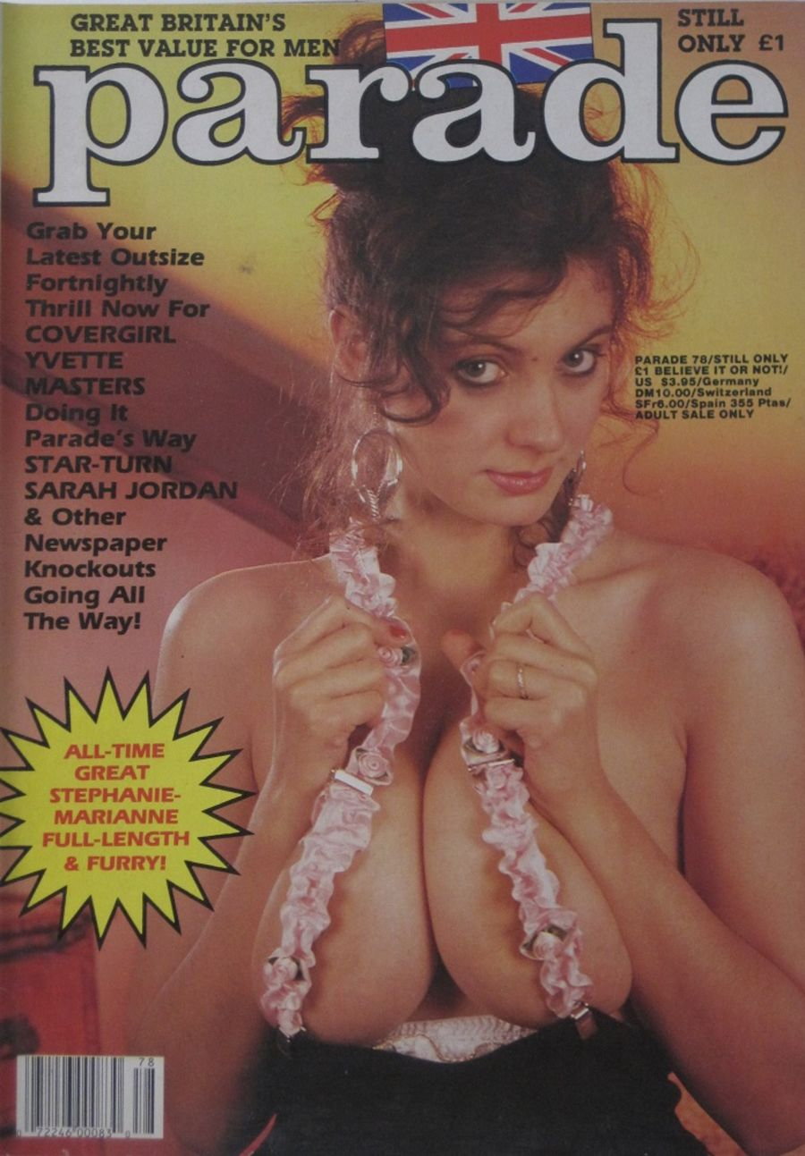 PARADE.  NO. 78. 1988 VINTAGE ADULT MAGAZINE.