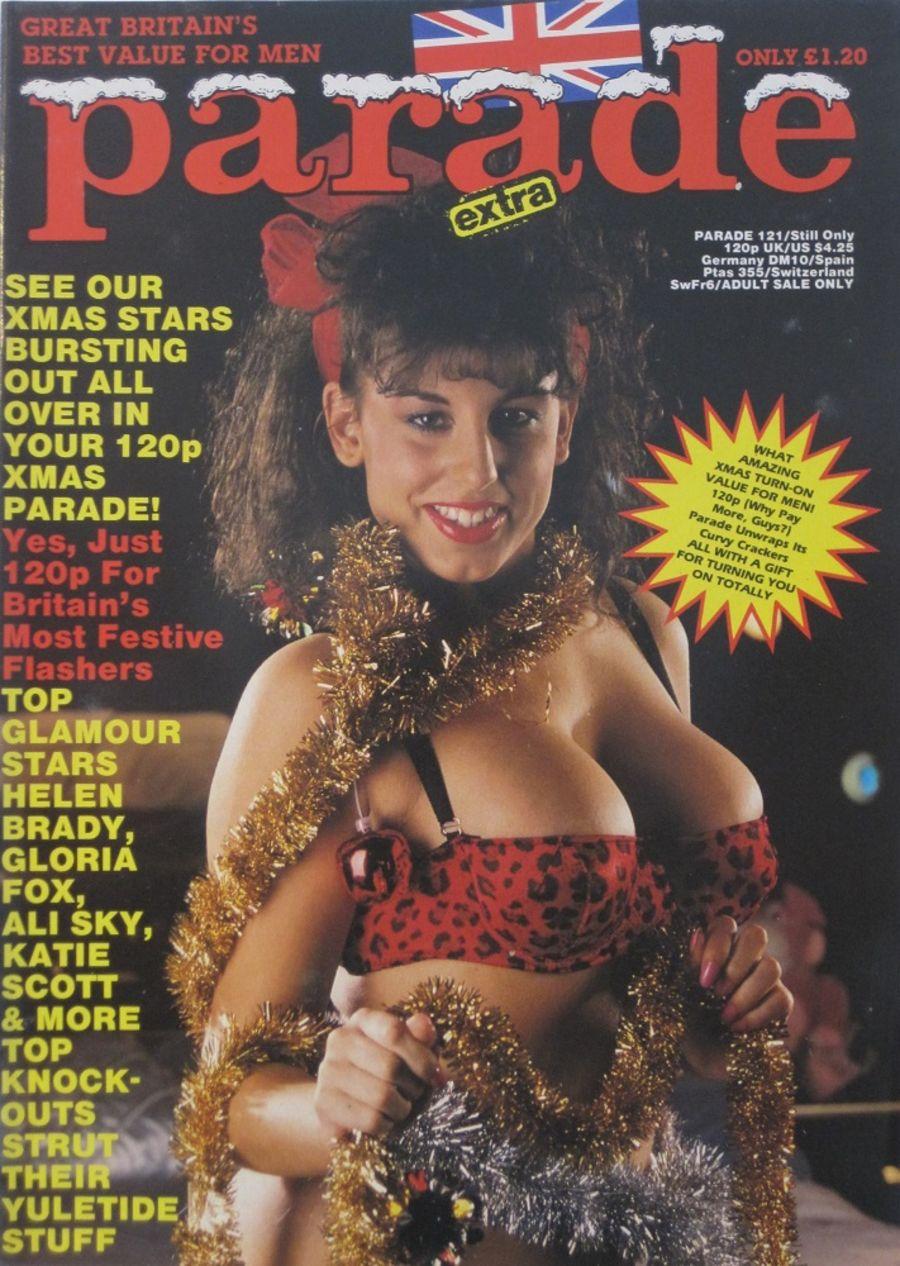 PARADE.  NO. 121. 1989 VINTAGE ADULT MAGAZINE.