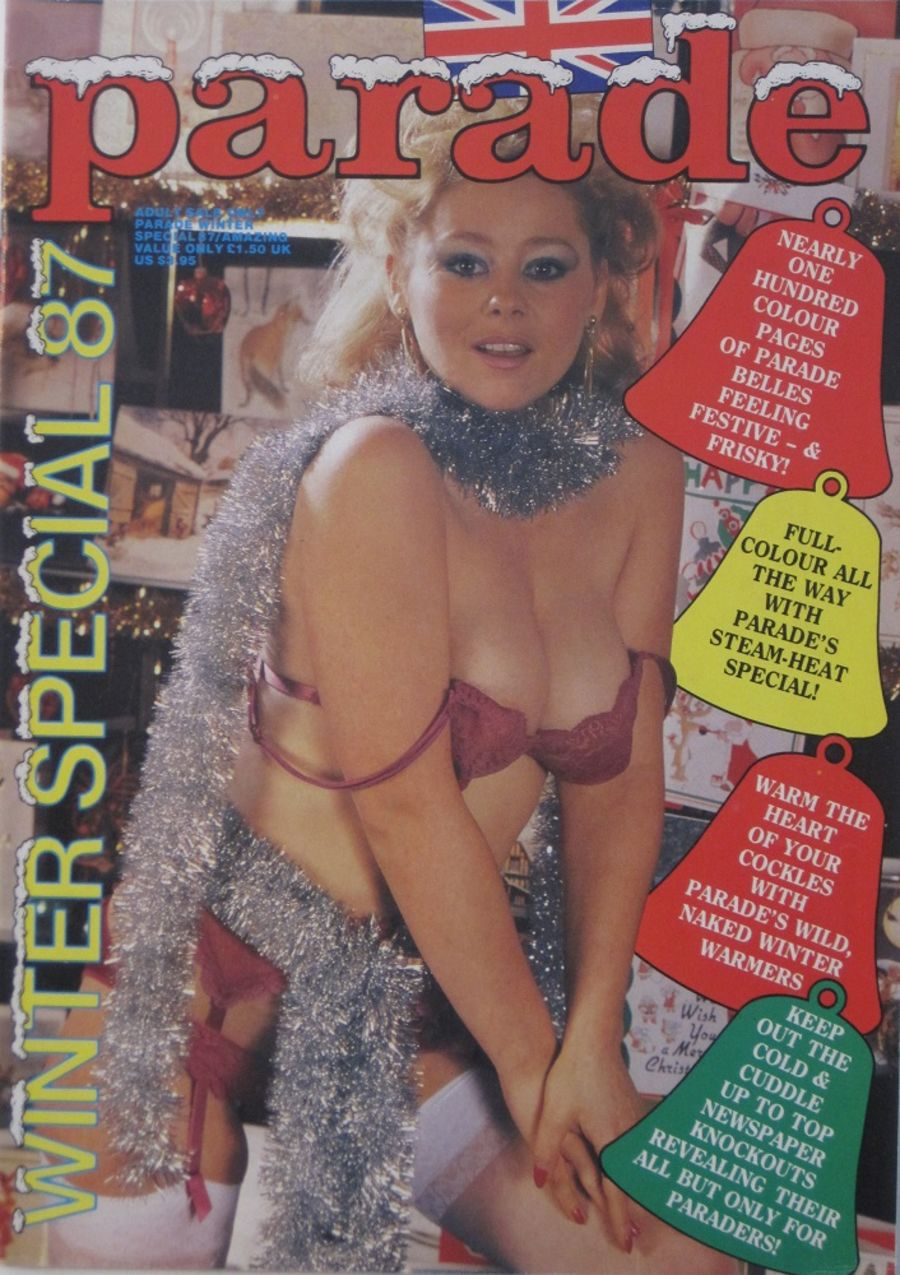 PARADE WINTER SPECIAL.  NO. 87. 1987 VINTAGE ADULT MAGAZINE.
