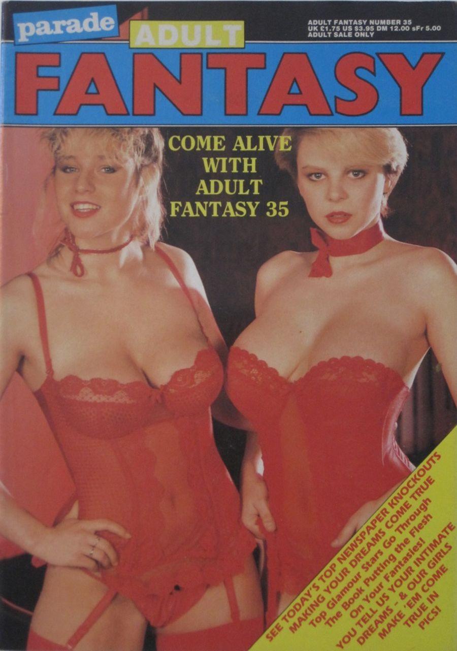 PARADE ADULT FANTASY.  NO. 35. VINTAGE ADULT MAGAZINE.