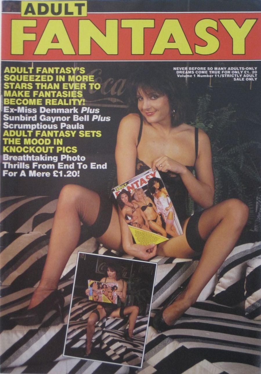 PARADE ADULT FANTASY.  VOL. 1 NO. 11. 1985 VINTAGE ADULT MAGAZINE.