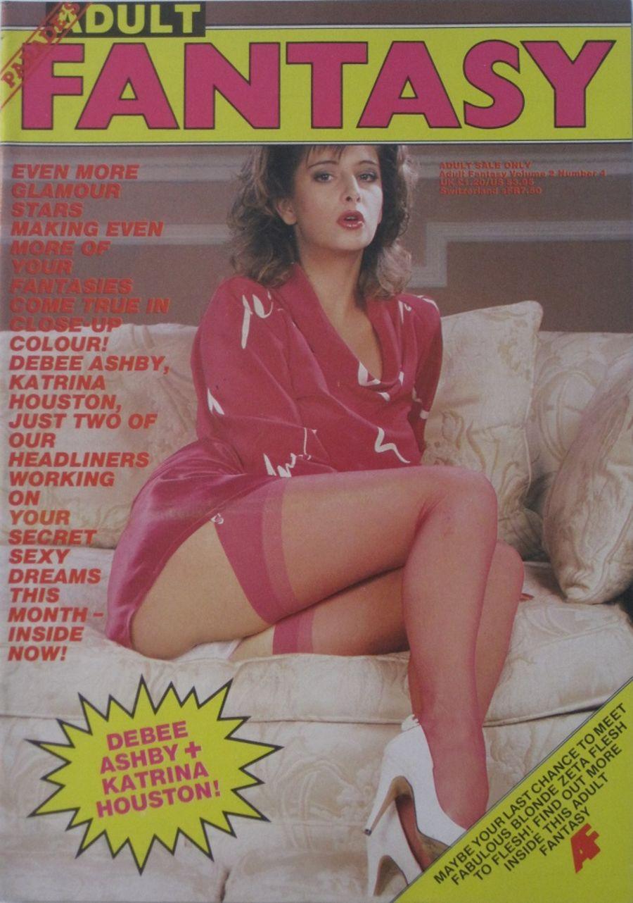 PARADE ADULT FANTASY.  VOL. 2  NO. 4. 1986 VINTAGE ADULT MAGAZINE.