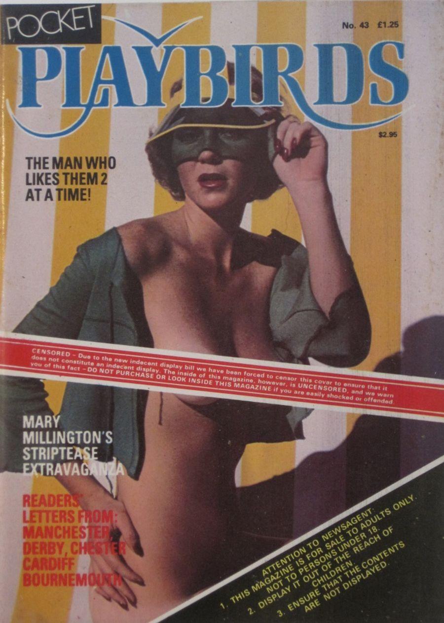 POCKET PLAYBIRDS.  NO. 43.  Vintage Adult Pocket Magazine.