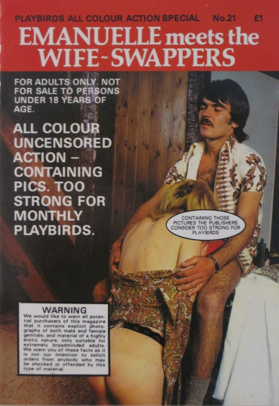 PLAYBIRDS ACTION SPECIAL.  NO. 21.  Vintage Adult Pocket Magazine.