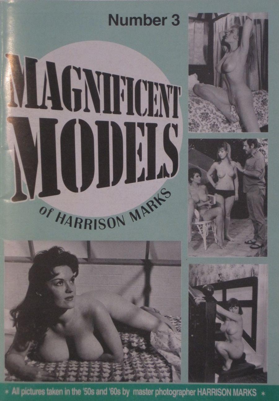 MAGNIFICENT MODELS. NO. 3.  VINTAGE ADULT POCKET MAGAZINE.