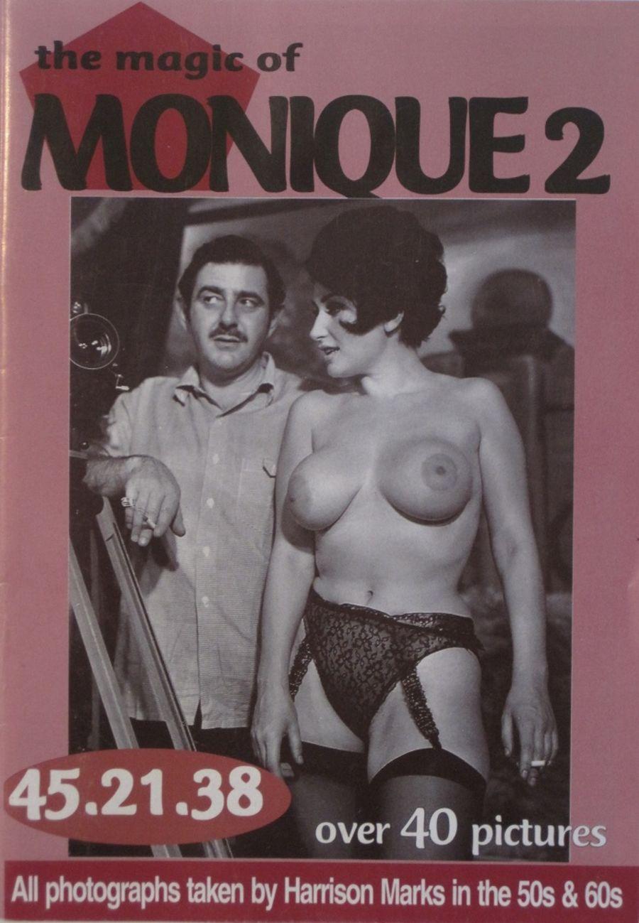 THE MAGIC OF MONIQUE. NO. 2.  VINTAGE ADULT POCKET MAGAZINE.