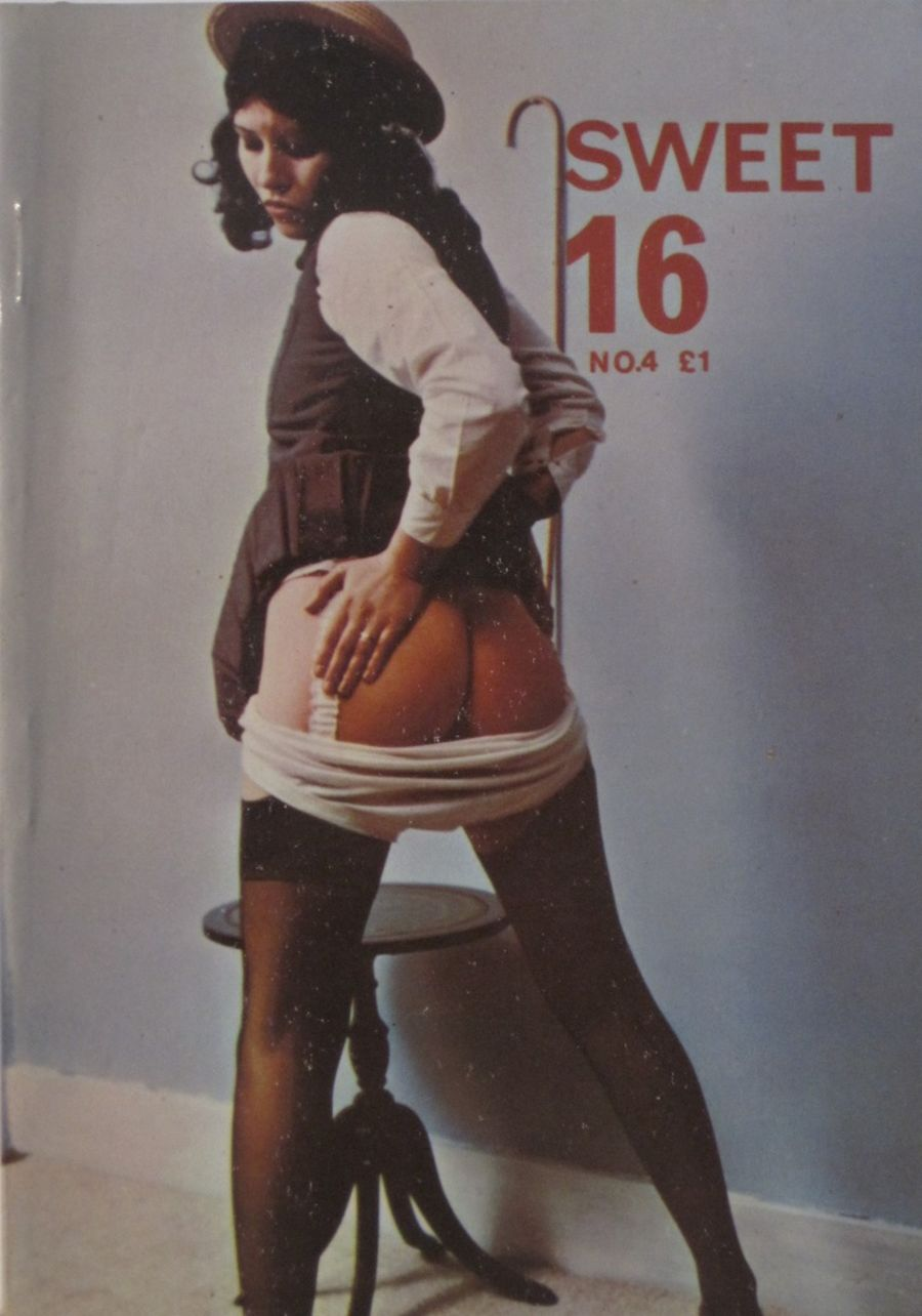 SWEET 16.  NO. 4.  VINTAGE ADULT POCKET MAGAZINE.