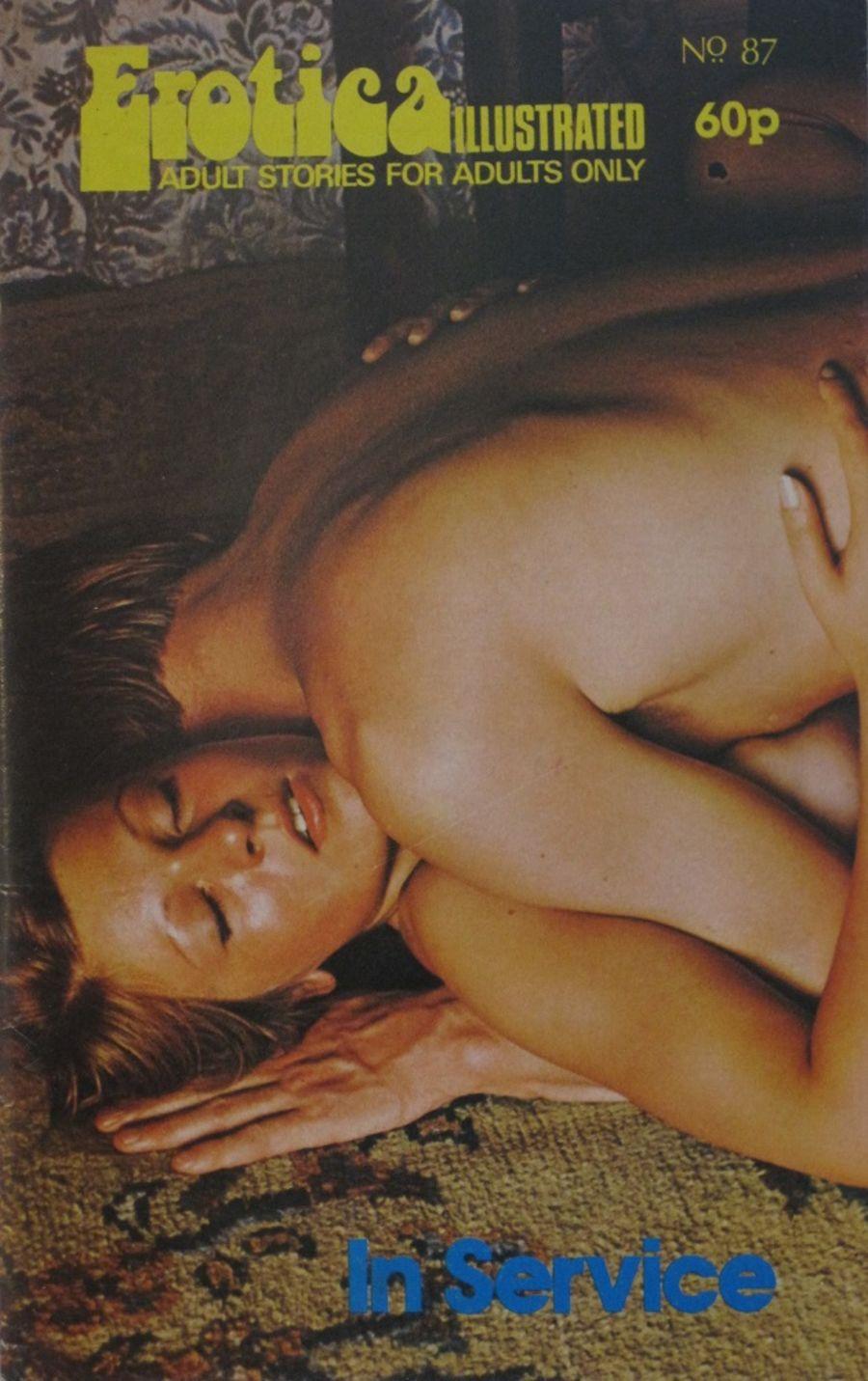EROTICA ILLUSTRATED.  NO. 87.  1976 VINTAGE ADULT POCKET MAGAZINE.
