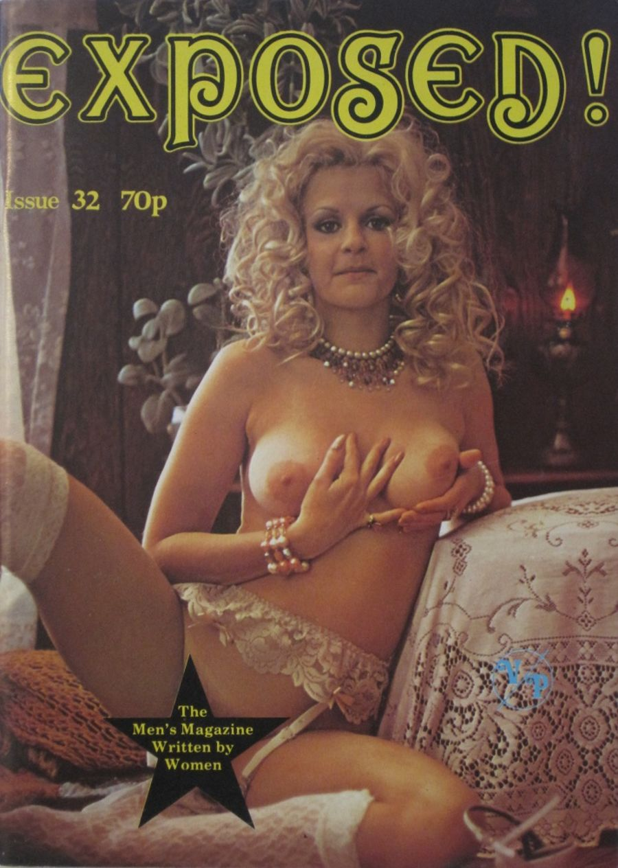EXPOSED.  NO. 32.  VINTAGE ADULT MAGAZINE.