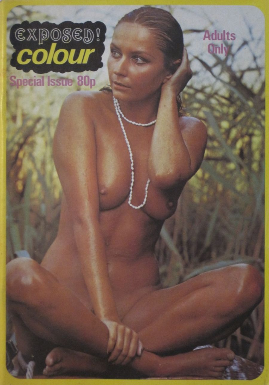 EXPOSED COLOUR SPECIAL  NO. 1.  VINTAGE ADULT MAGAZINE.