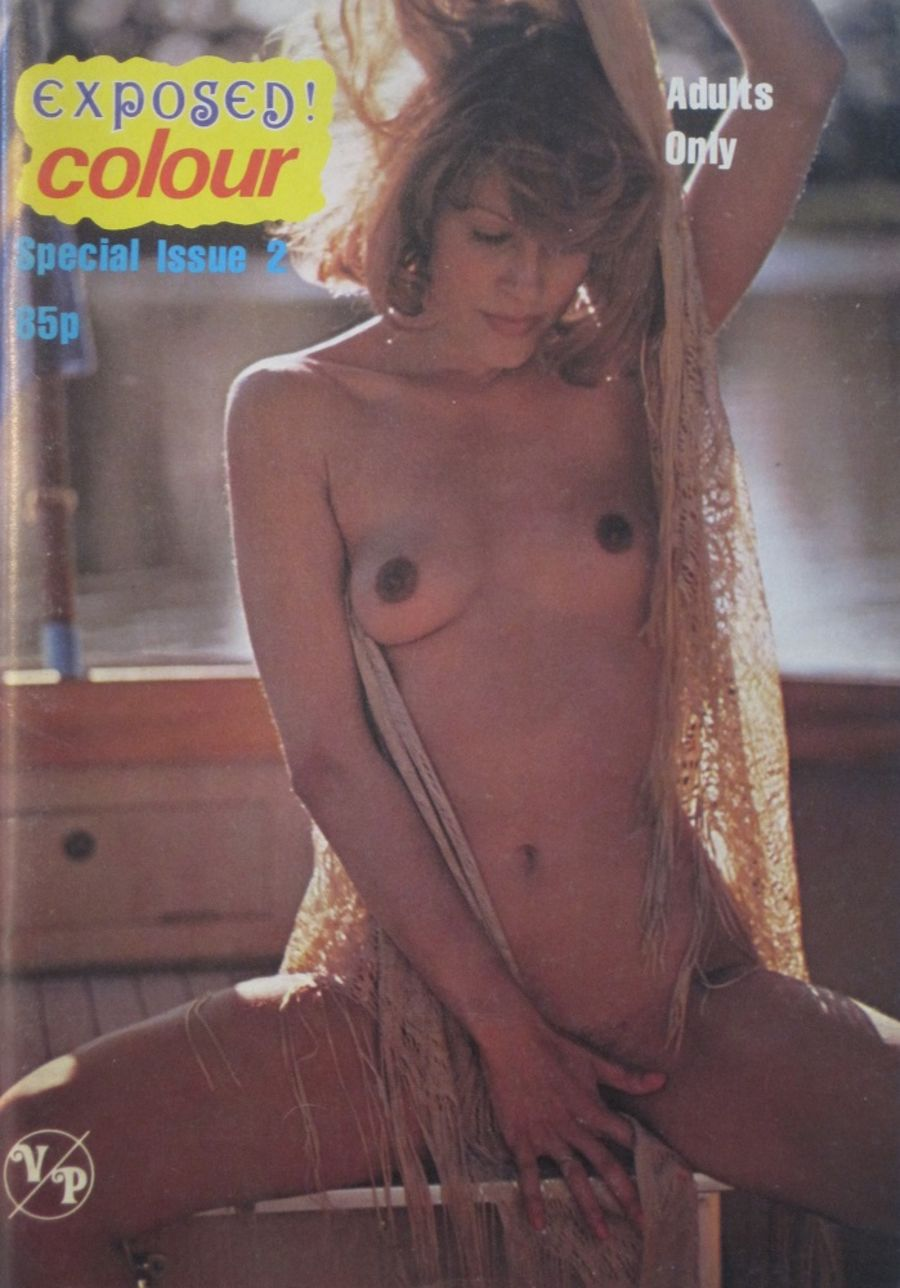 EXPOSED COLOUR SPECIAL  NO. 2.  VINTAGE ADULT MAGAZINE.