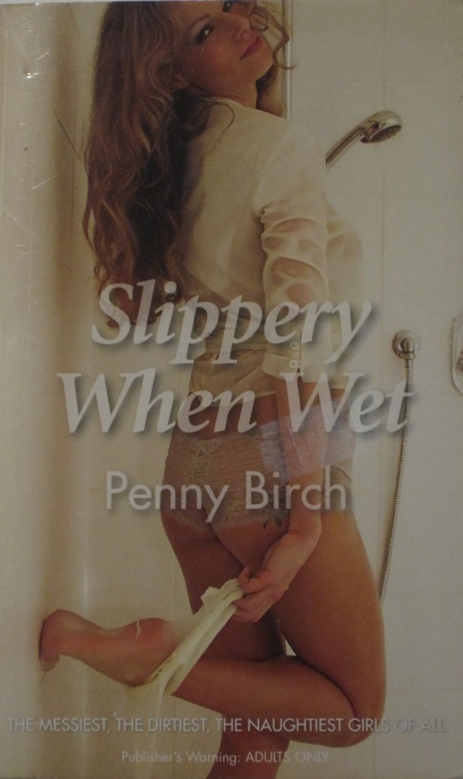 SLIPPERY WHEN WET.  2007 EROTIC FICTION PAPERBACK BOOK.