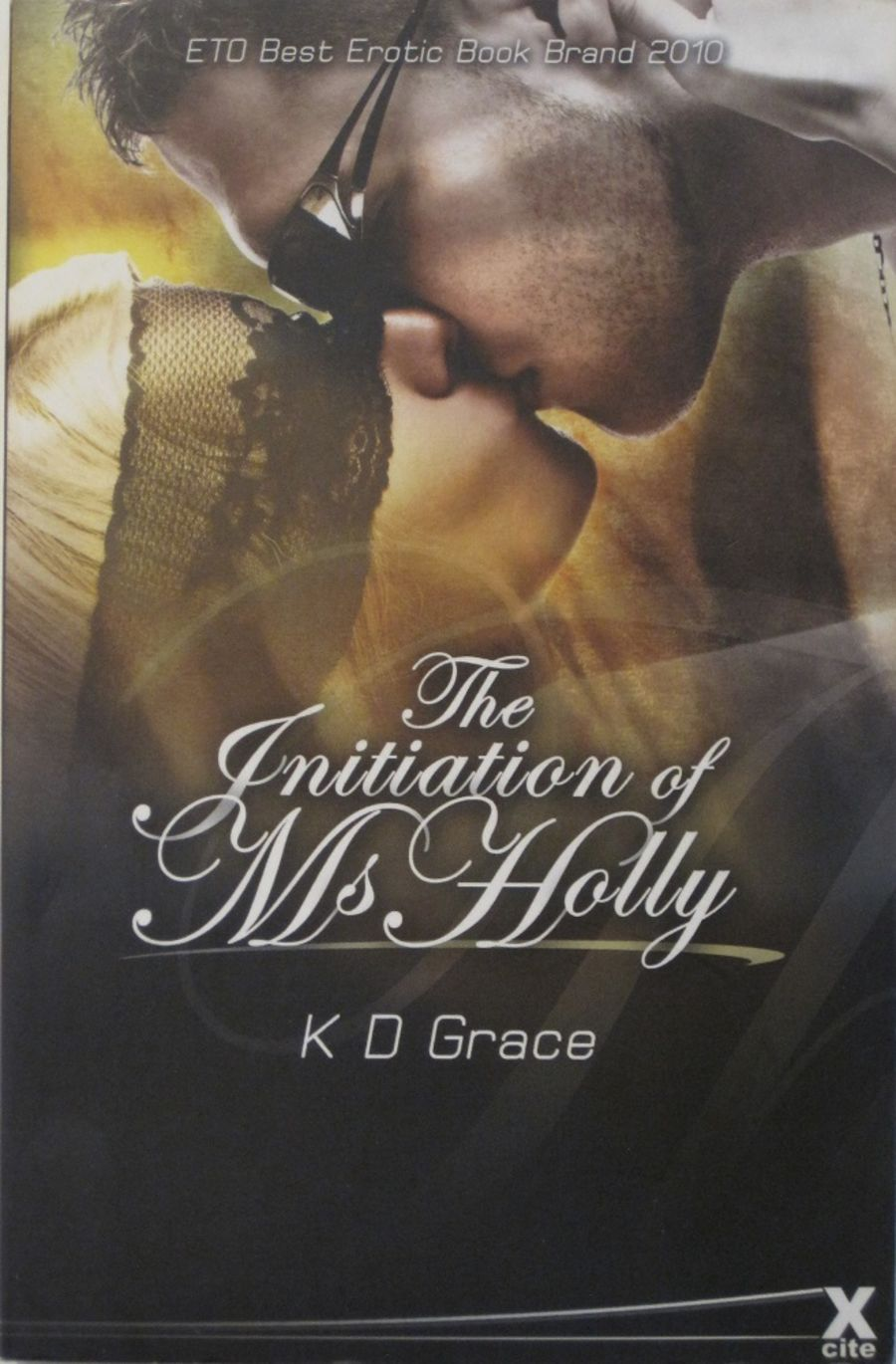 THE INITIATION OF MS. HOLLY.  2010 EROTIC FICTION PAPERBACK BOOK.