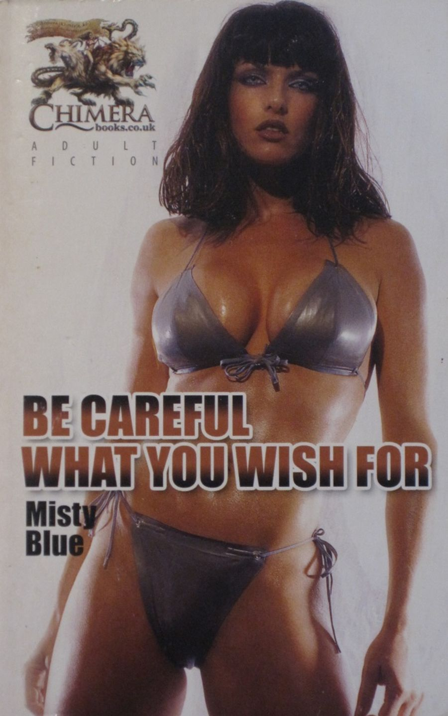 BE CAREFUL WHAT YOU WISH FOR.  2009 EROTIC FICTION PAPERBACK BOOK.