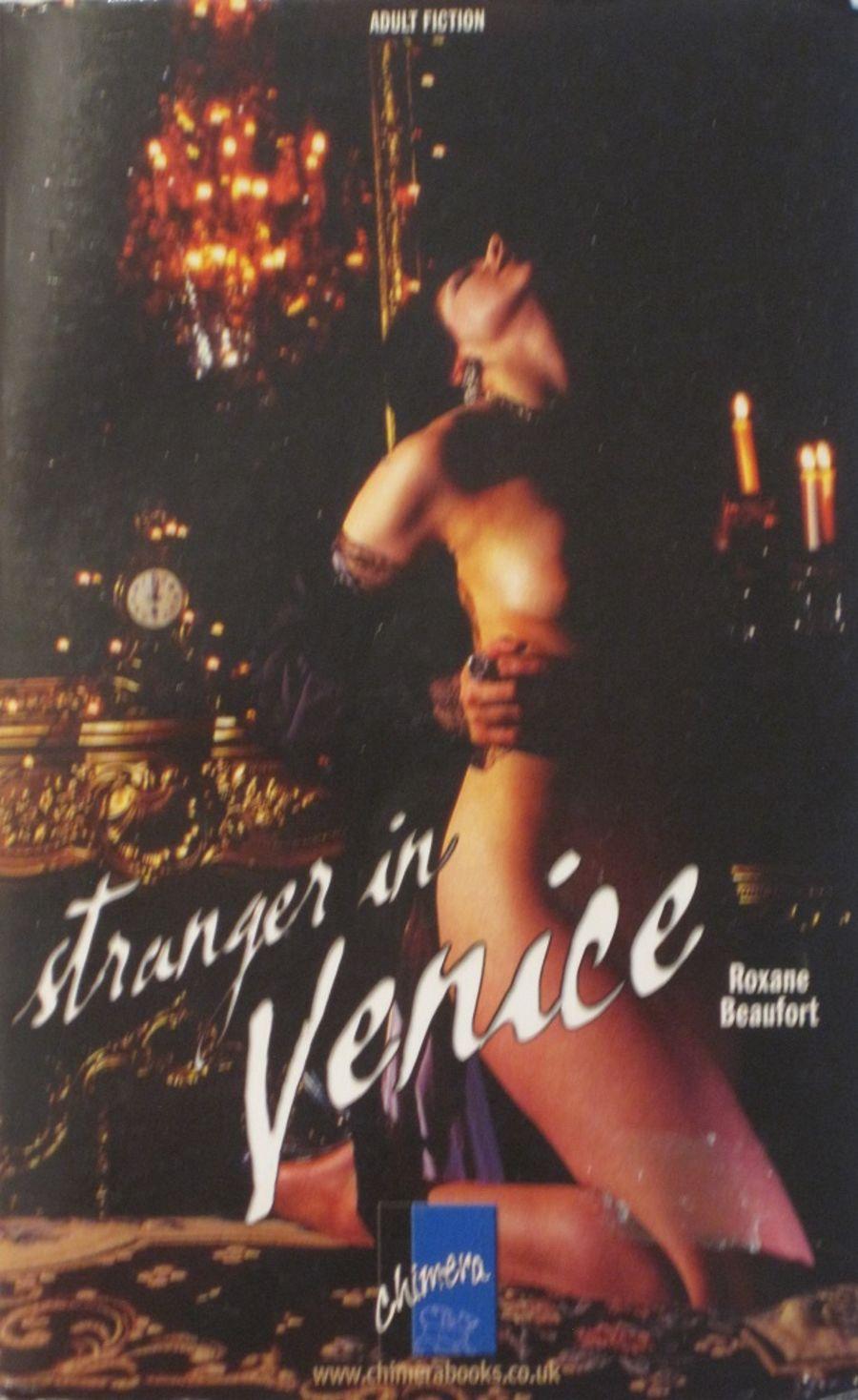 STRANGER IN VENICE.  2006 EROTIC FICTION PAPERBACK BOOK.
