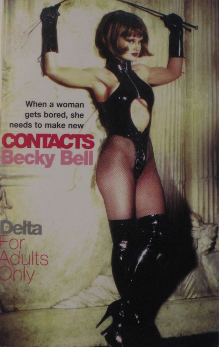 CONTACTS.  1998 EROTIC FICTION PAPERBACK BOOK.