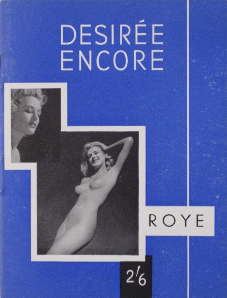 DESIREE ENCORE BY ROYE.  VINTAGE ADULT POCKET MAGAZINE.
