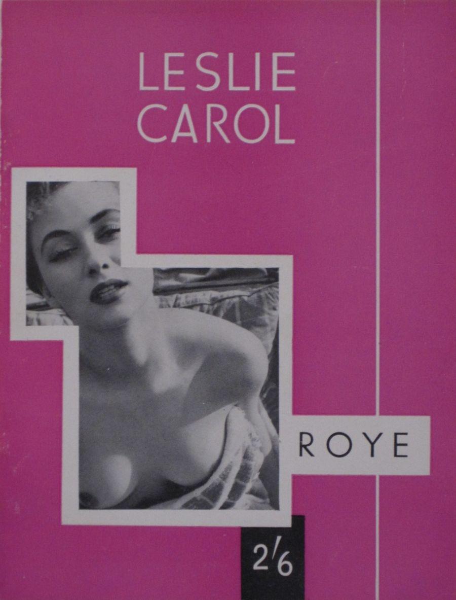 LESLIE CAROL BY ROYE.  VINTAGE ADULT POCKET MAGAZINE.