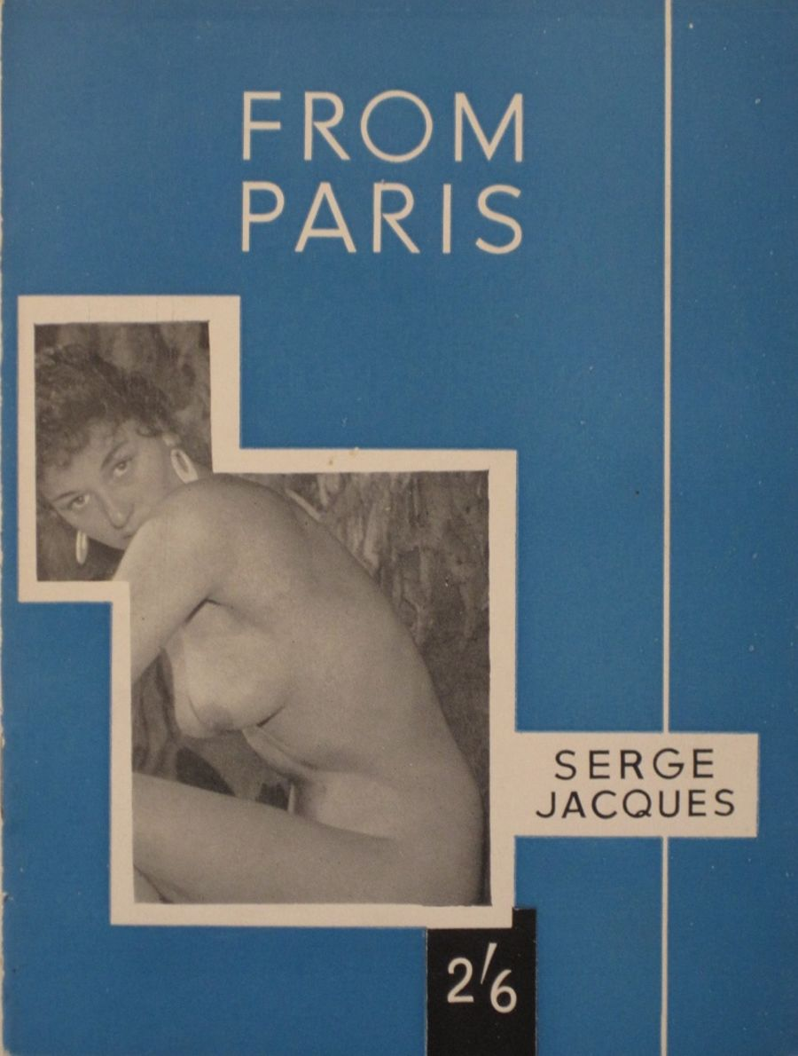 ART AND BEAUTY No. 6. FROM PARIS. VINTAGE ADULT MINIATURE POCKET MAGAZINE.