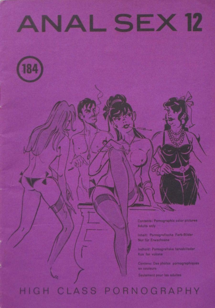 ANAL SEX. NO. 12.  1975 VINTAGE ADULT POCKET MAGAZINE.