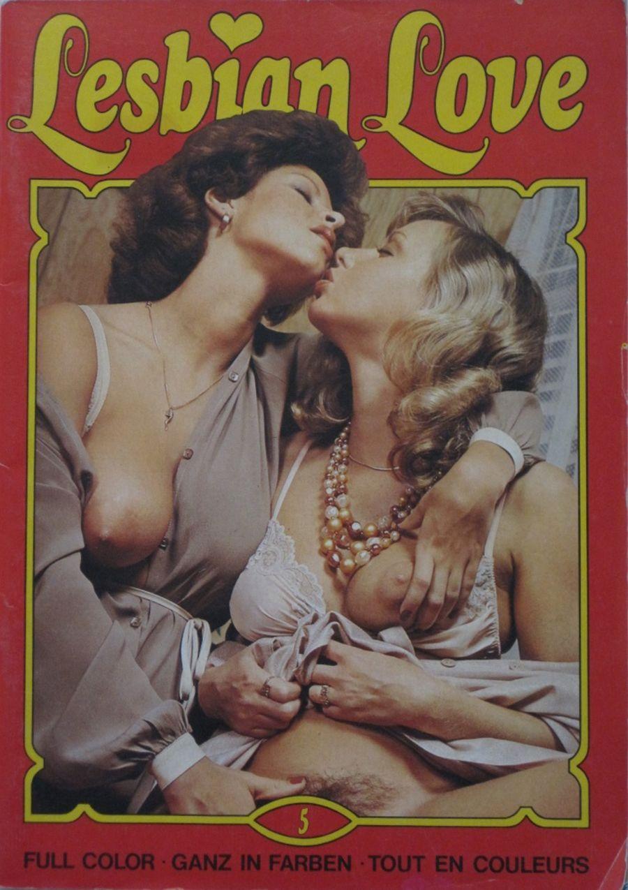 LESBIAN LOVE. NO. 5.  1979 VINTAGE ADULT MAGAZINE.