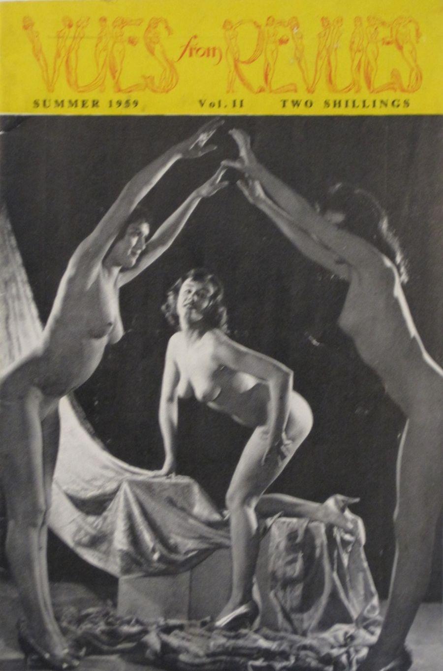 VUES FROM REVUES. VOL. 2. 1959 VINTAGE MEN'S POCKET MAGAZINE.