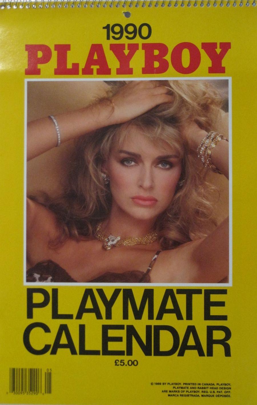 PLAYBOY PLAYMATE CALENDAR. 1990.