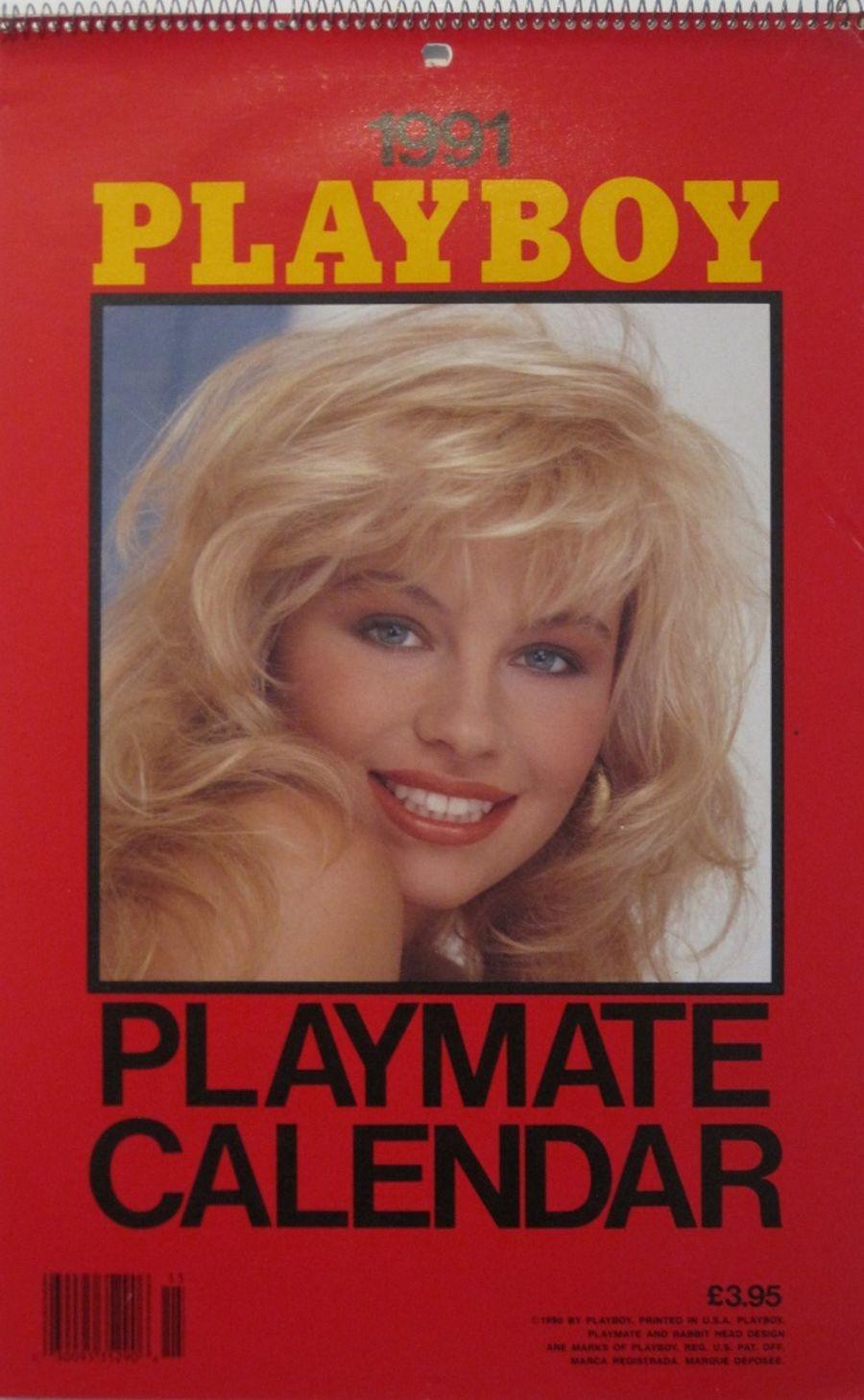 PLAYBOY PLAYMATE CALENDAR. 1991.