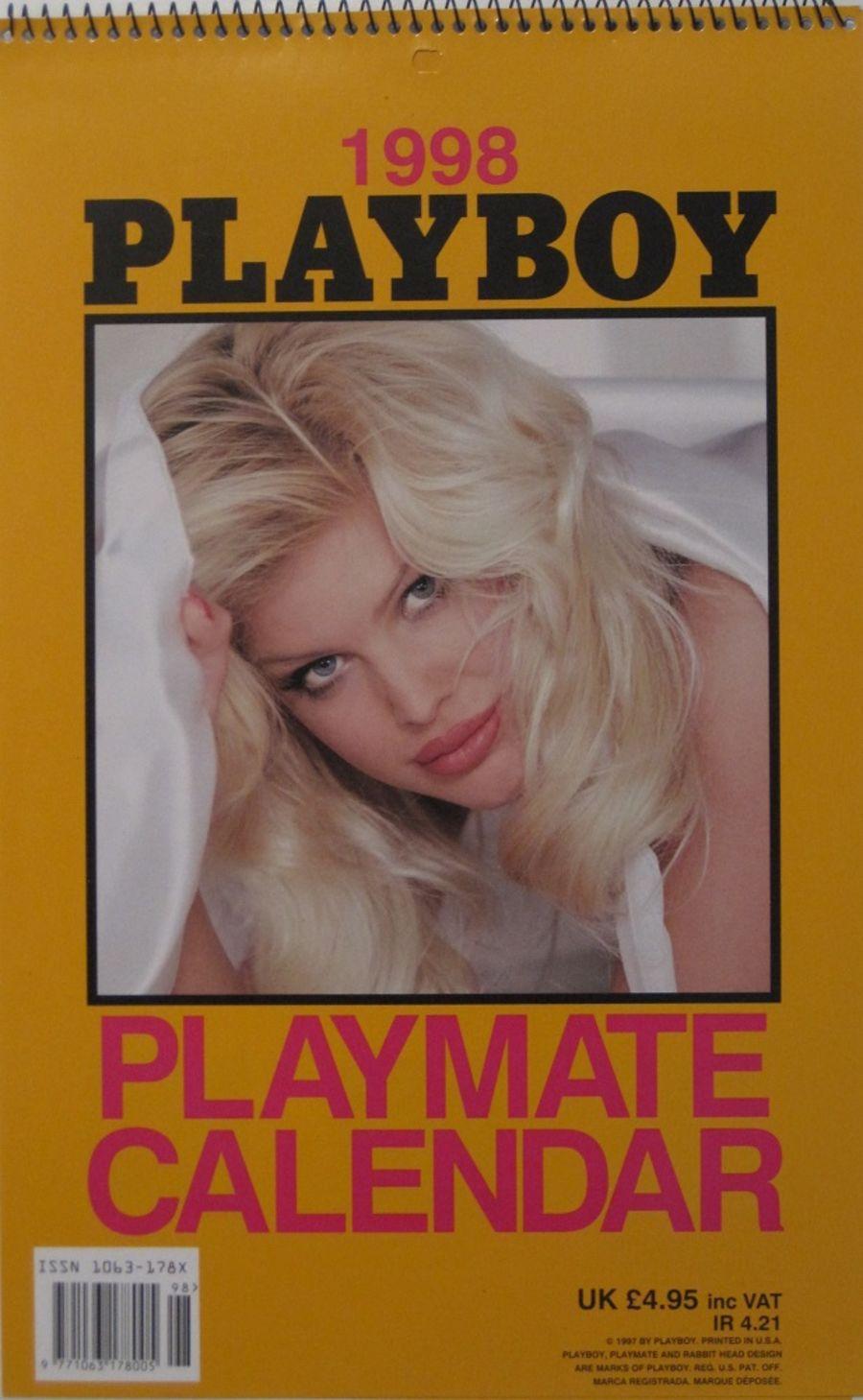 PLAYBOY PLAYMATE CALENDAR. 1998.