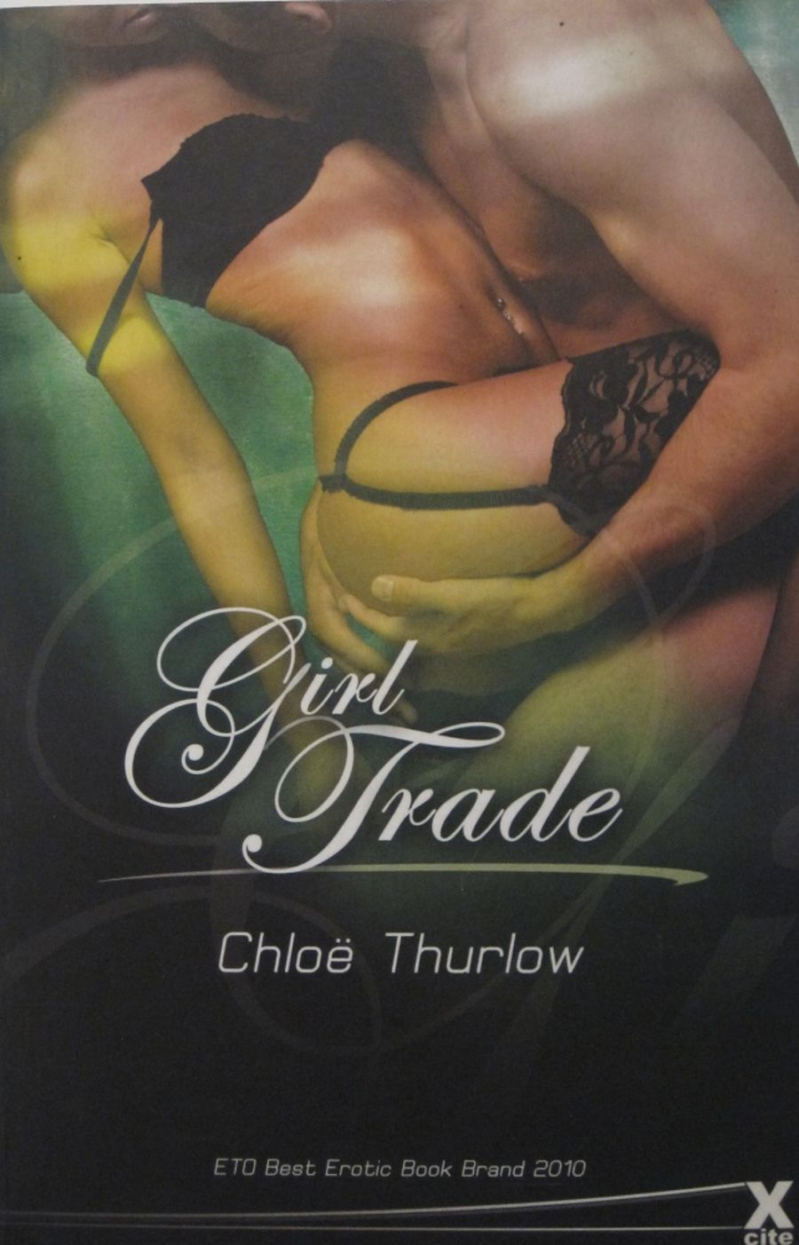 GIRL TRADE.  2010 EROTIC FICTION PAPERBACK BOOK.