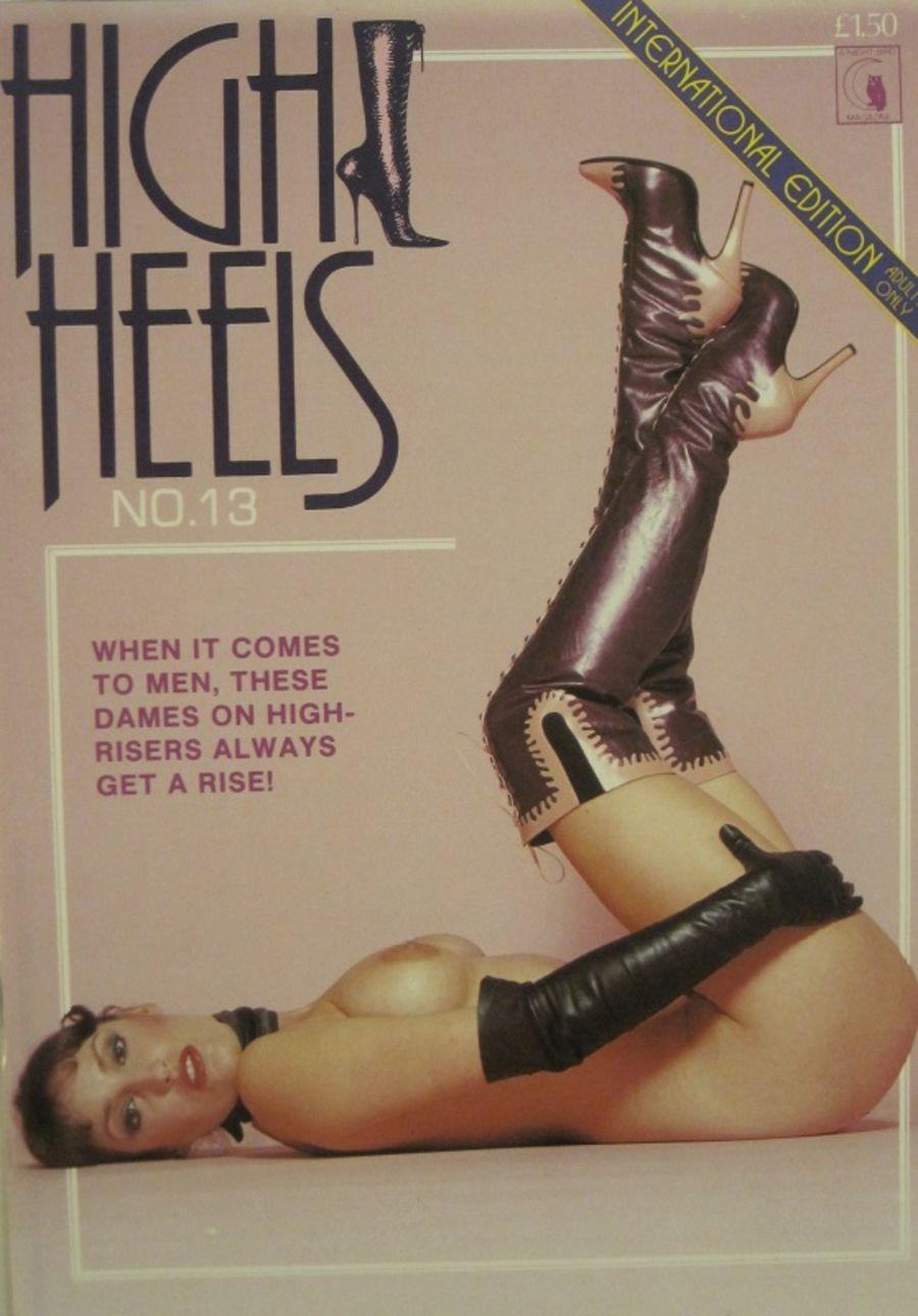 HIGH HEELS  No. 13.  MEN'S MAGAZINE. 10012.