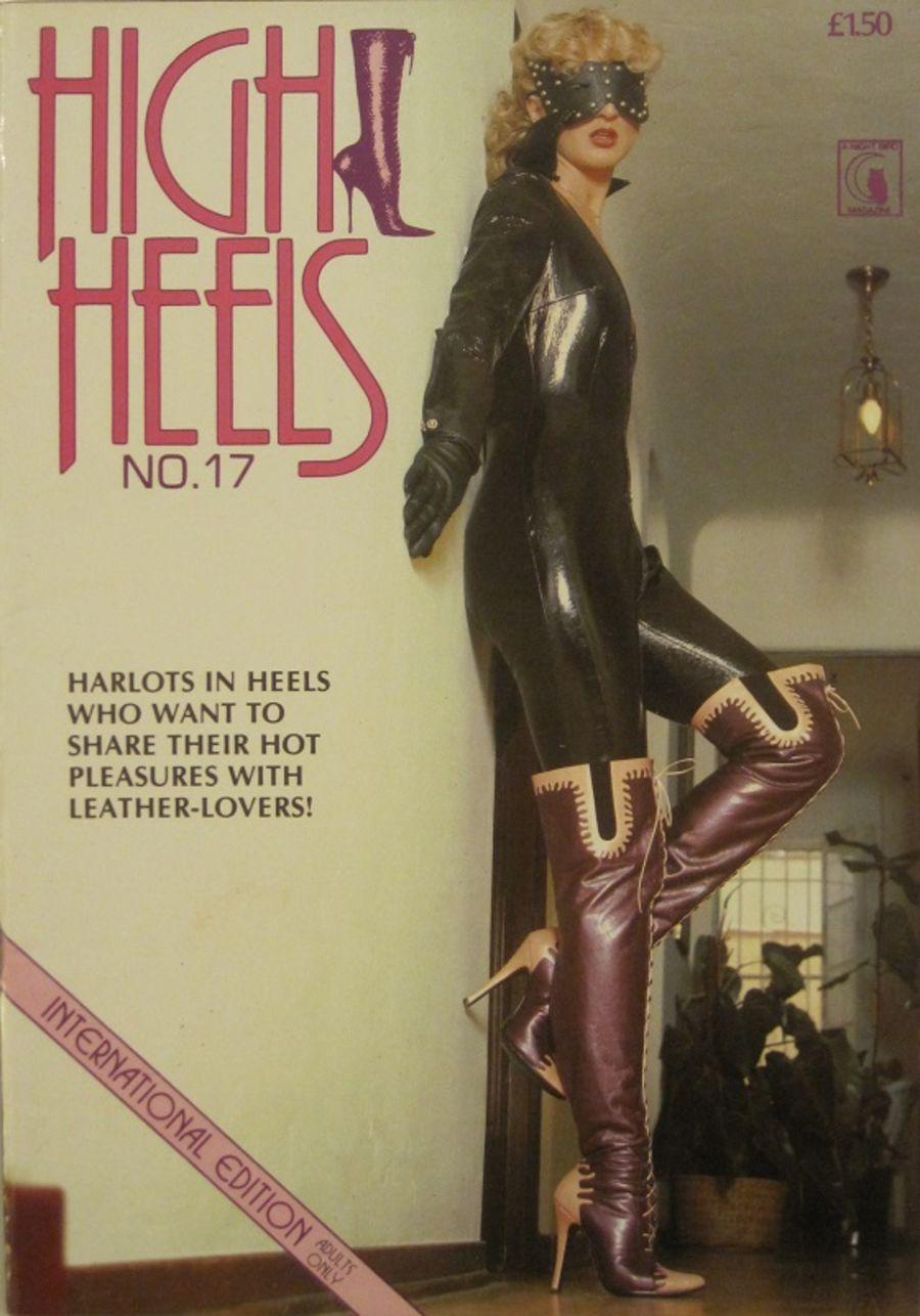 HIGH HEELS  No. 17.  MEN'S MAGAZINE. 10015.