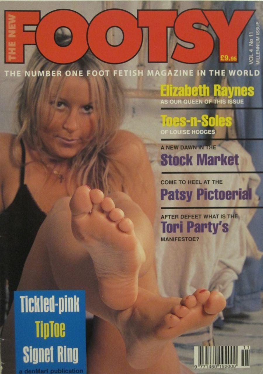 FOOTSY Vol. 4 No. 11. MEN'S MAGAZINE. 10016.