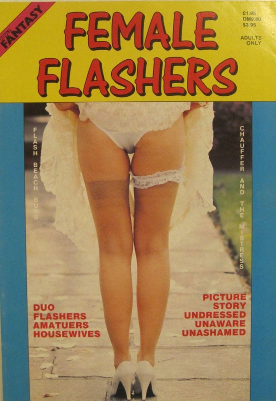 PARADE ADULT FANTASY FEMALE FLASHERS.  MEN'S MAGAZINE. 10023.