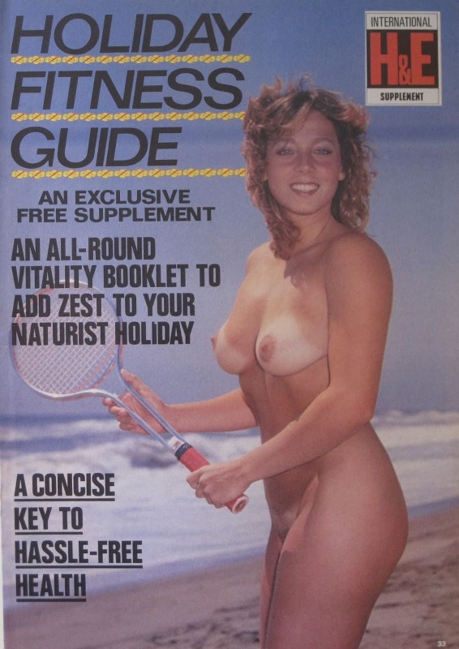 HEALTH & EFFICIENCY HOLIDAY FITNESS GUIDE. Vintage Naturist Magazine.  DM10057.