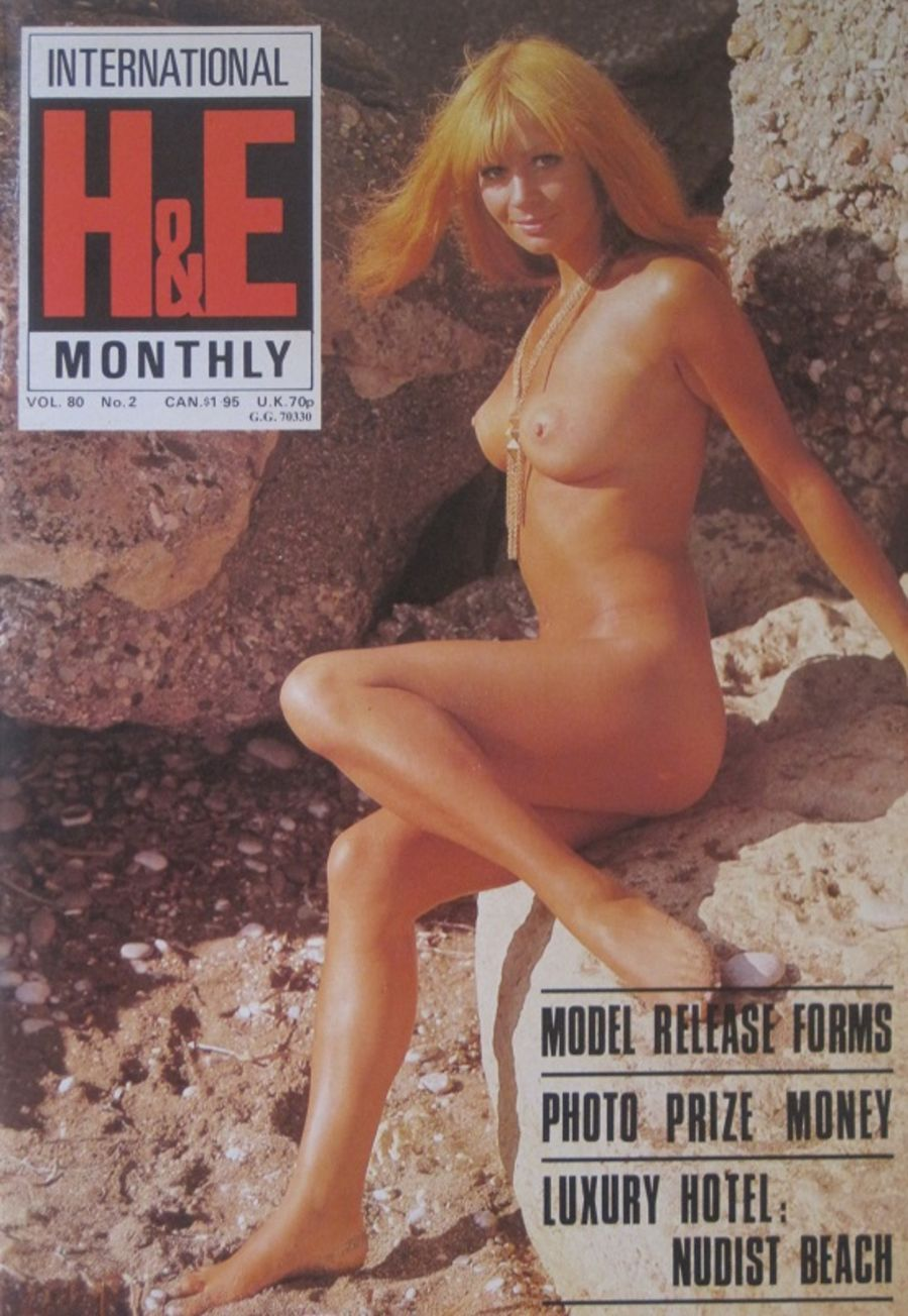 HEALTH & EFFICIENCY MONTHLY Vol. 80 No. 2. Vintage Naturist Magazine.  DM10061.