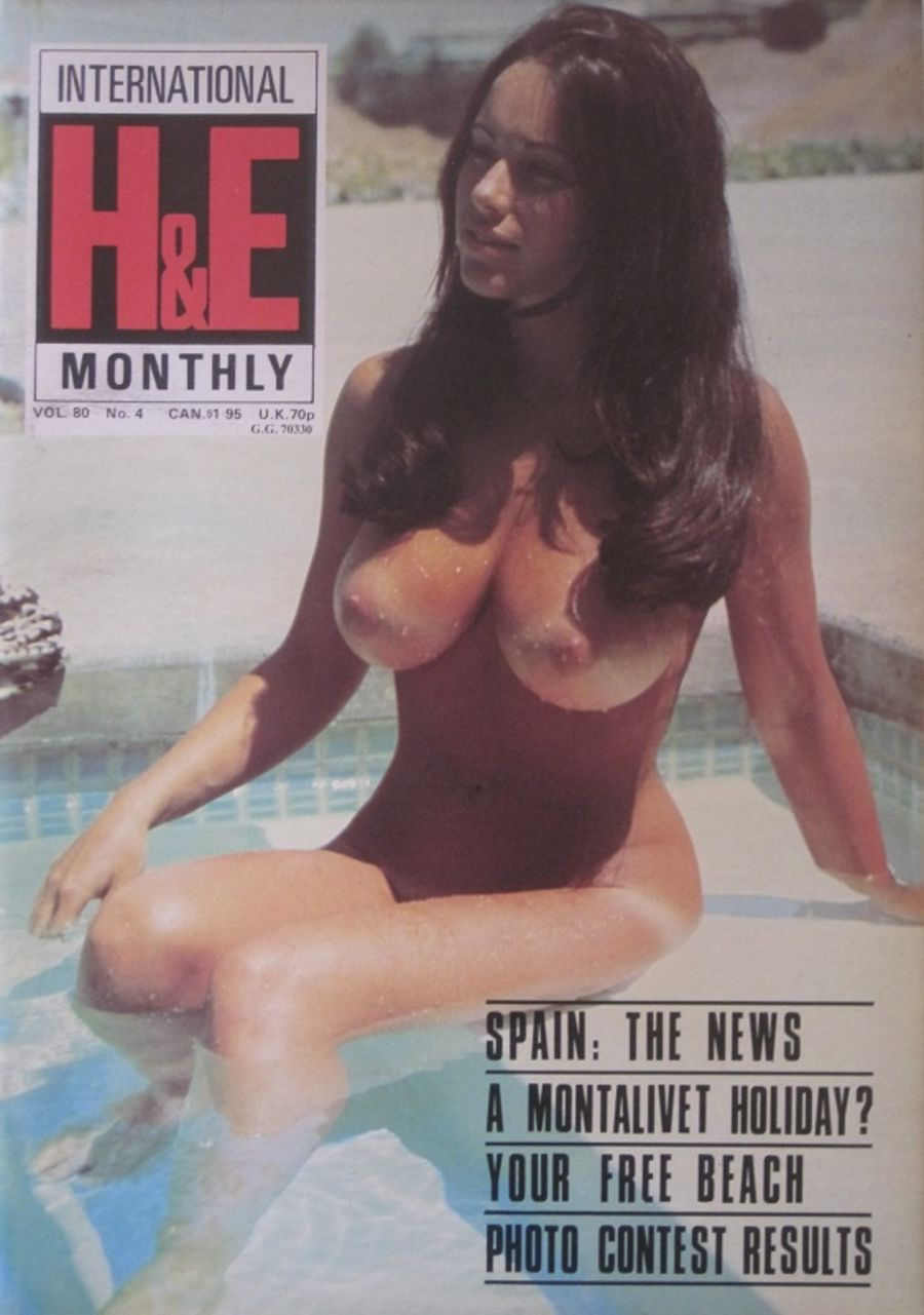 HEALTH & EFFICIENCY MONTHLY Vol. 80 No. 4. Vintage Naturist Magazine.  DM10063.