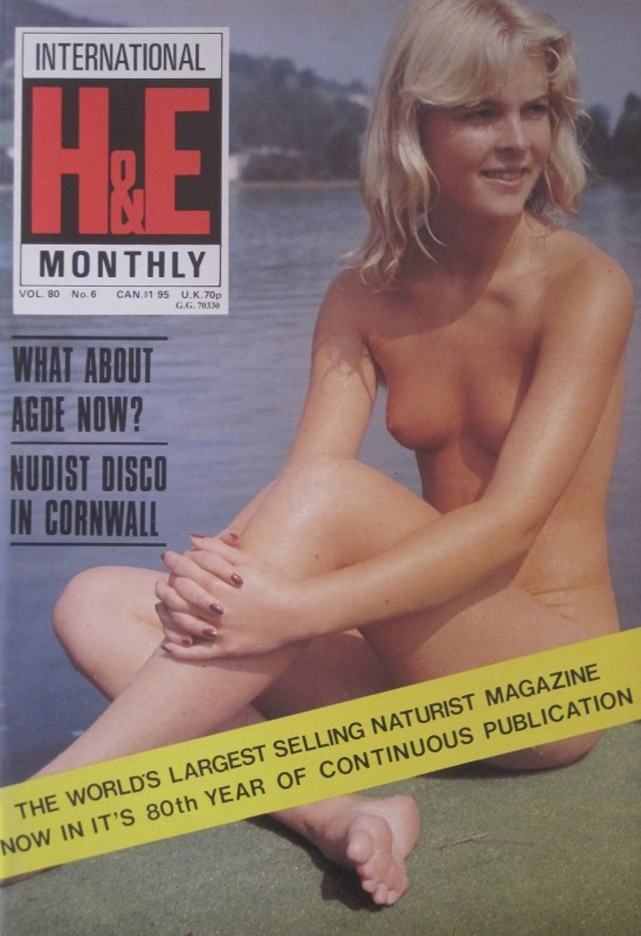HEALTH & EFFICIENCY MONTHLY Vol. 80 No. 6. Vintage Naturist Magazine.  DM10065.